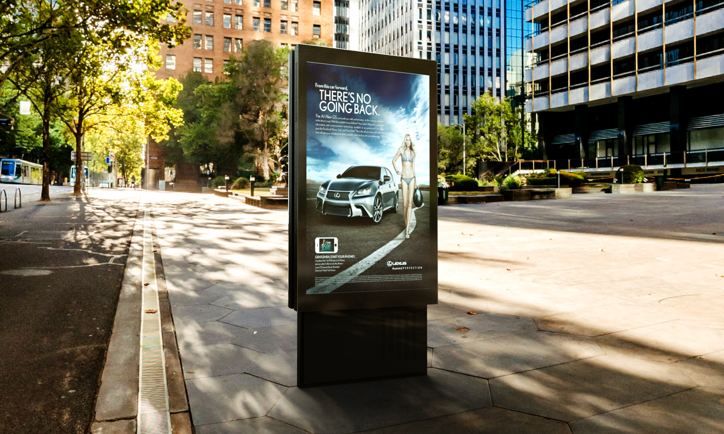 inexLED CityLight Poster - ekran LED outdoor
